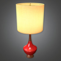 Retro Lamp 05 (Midcentury Mod) - PBR Game Ready 3D