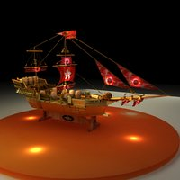 Chinese treasure ship