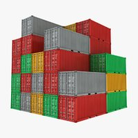 container pile 3D