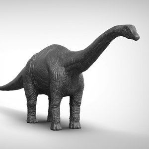 3D diplodocus