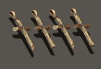 3D model cross pendants pack