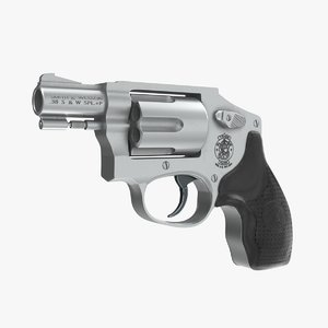 smith wesson pro 642 3D