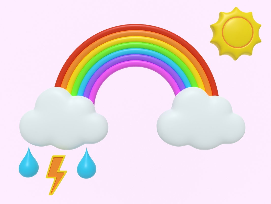 3D icon weather