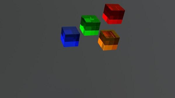 3D model jelly animation blender