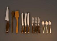 3D cutlery spoons
