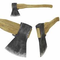 ax old 3D model