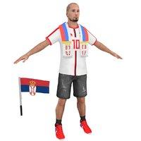 soccer fan 2 3D