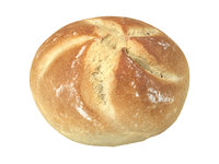 photorealistic scanned semmel bread 3D