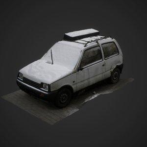 3D scan oka model