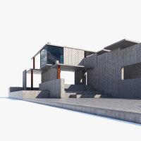 Exterior Space Concrete