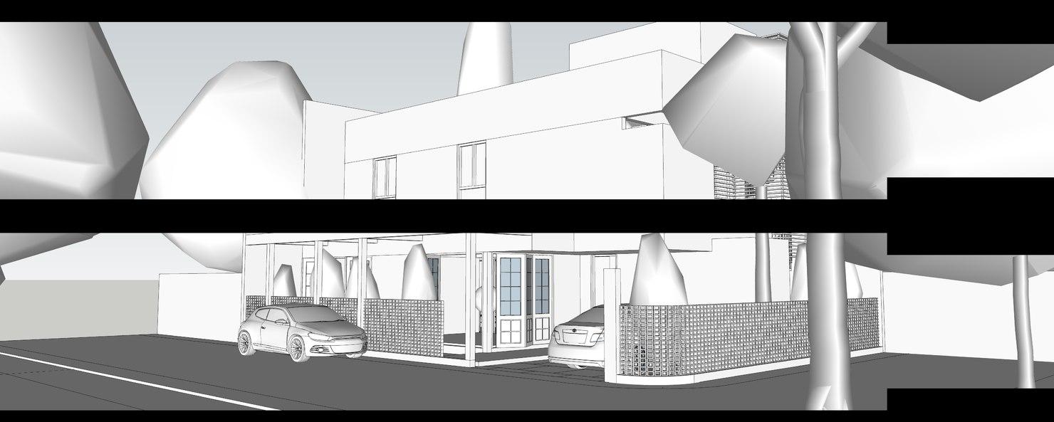 3D sketchup setting render