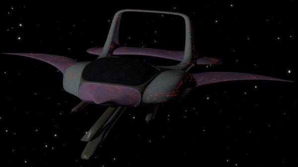3D space airplane aircraft air plane
