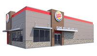 burger king 3D model