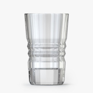 3D vodka glass model