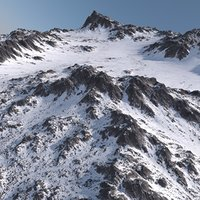 Snowy Terrain MTH041a