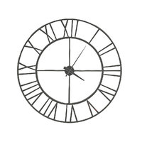 Metal Wall Clock 3D Model