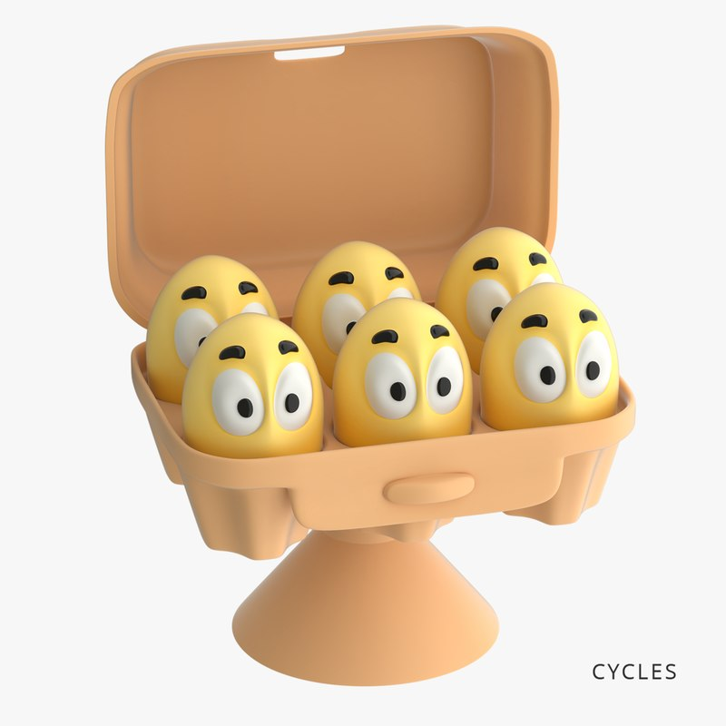 eggs toys-stickies iges model