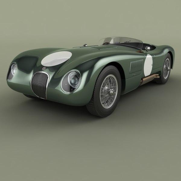 1953 c-type 3D model