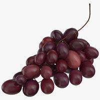 3D grapes model