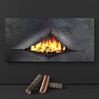 fireplace omega model
