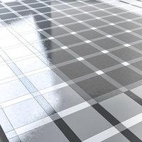 burger king style tiled floor model