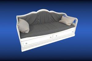 3D bed