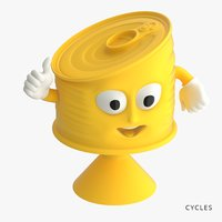 tin toys-stickies iges 3D