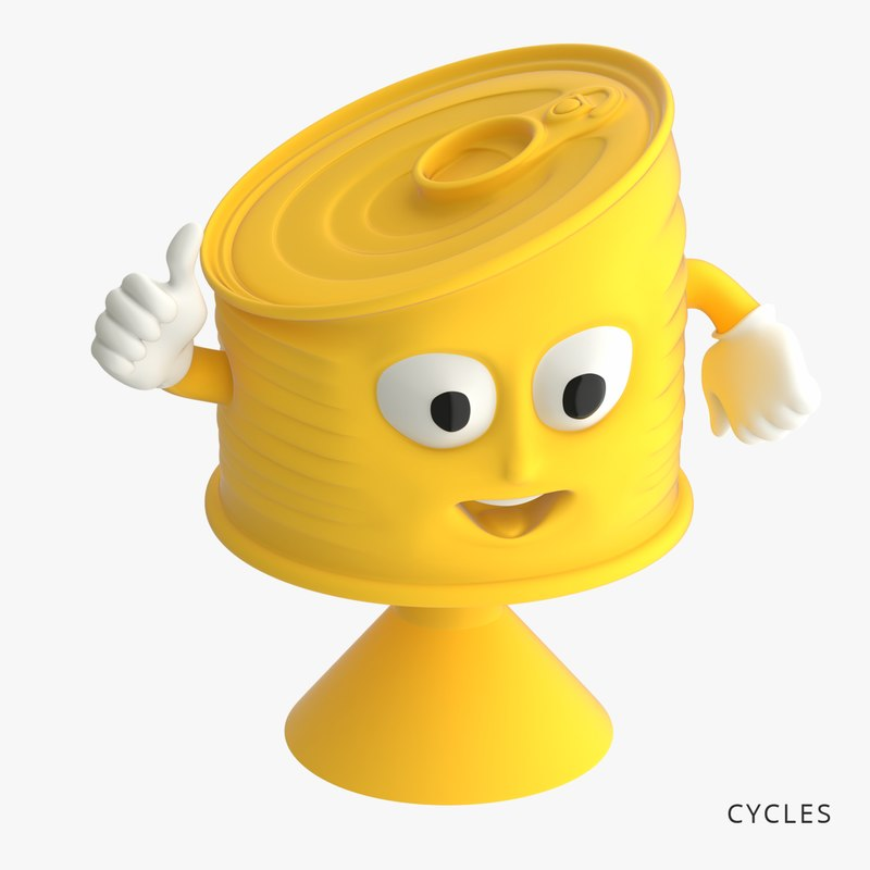 tin toys-stickies iges 3D