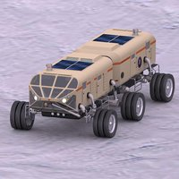 planetary rover antarctica model