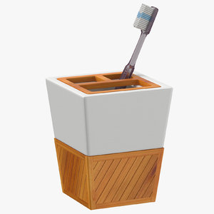 toothbrush holder 3D