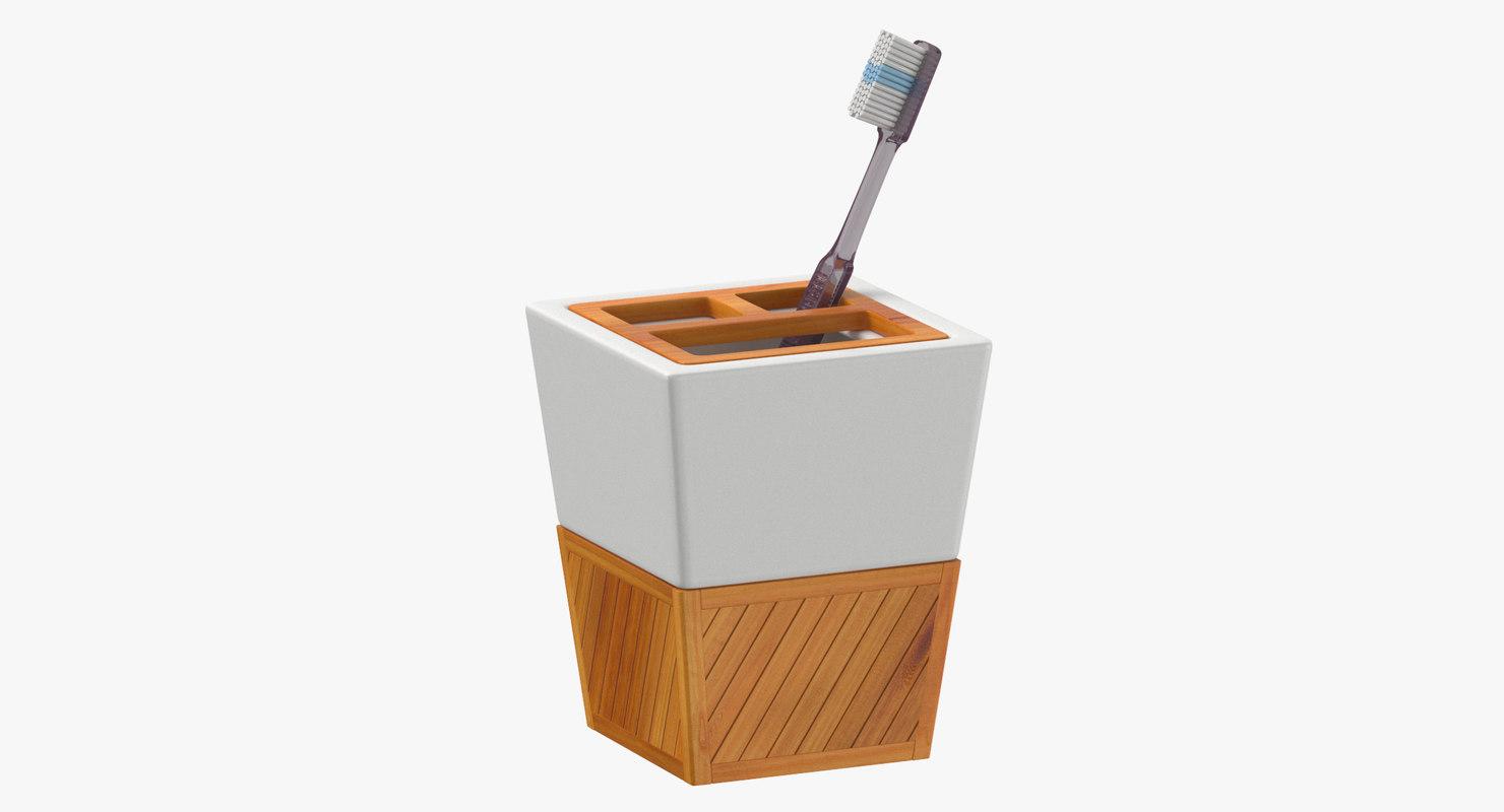 toothbrush holder 3D