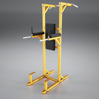 3D model press station