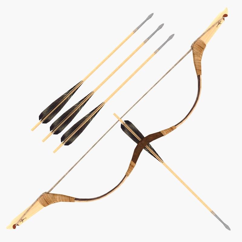 3D mongolian bow composite