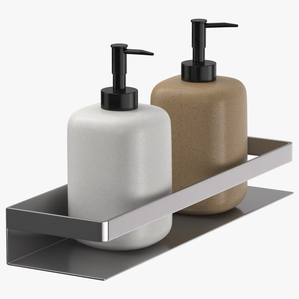3D shower caddy 02