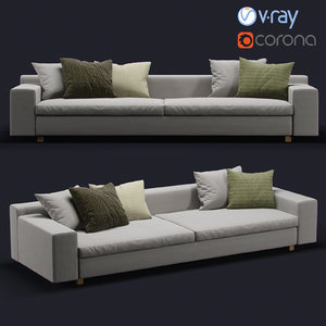 3D sofa corona model