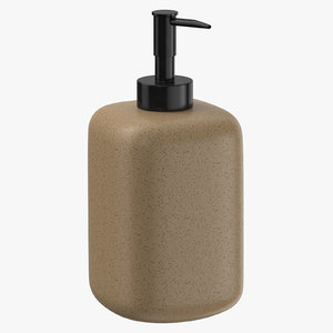 soap dispenser 01 3D model