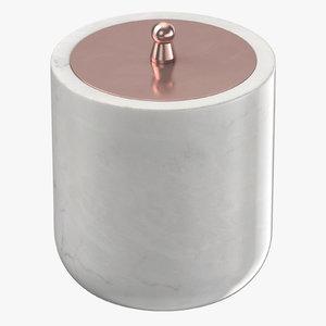 3D cotton jar