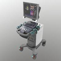 ultrasound medical 3D model