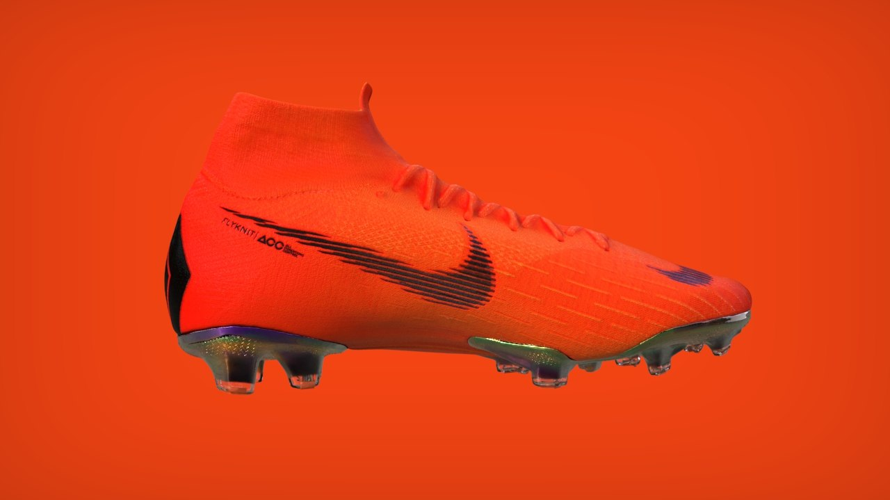 3D photogrametry nike mercurial model