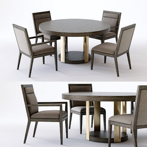3D profile dining table 2