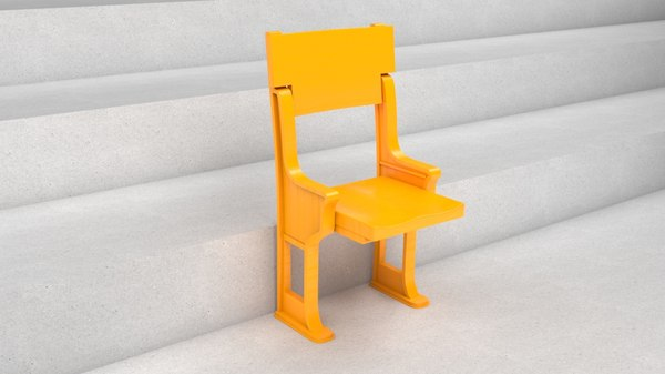 public seating 3D model