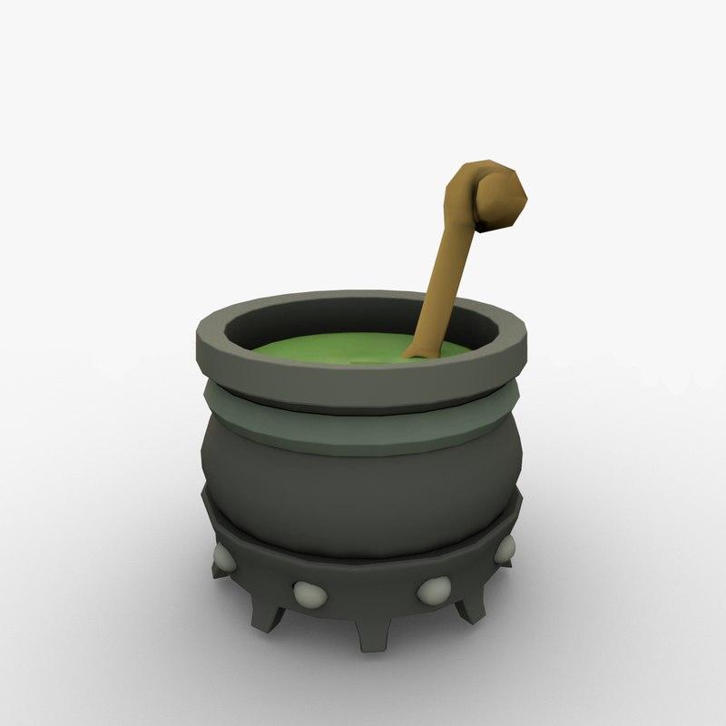 boiler kettle cartoon pot model