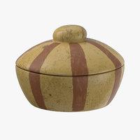 ceramic container 3D model