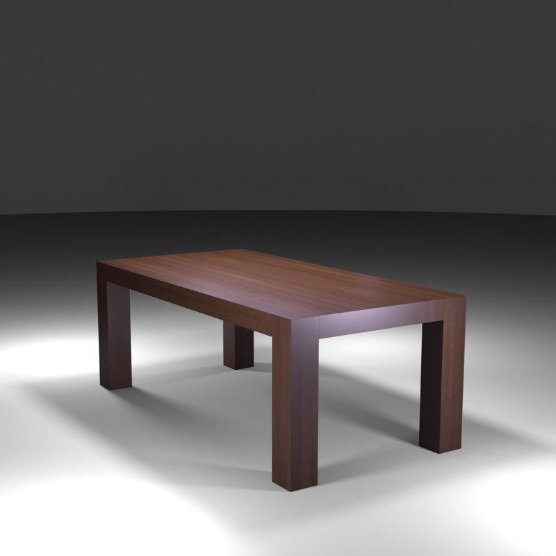 imb dining table 3D model