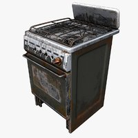 3D gas stove