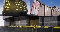 3D hinode building