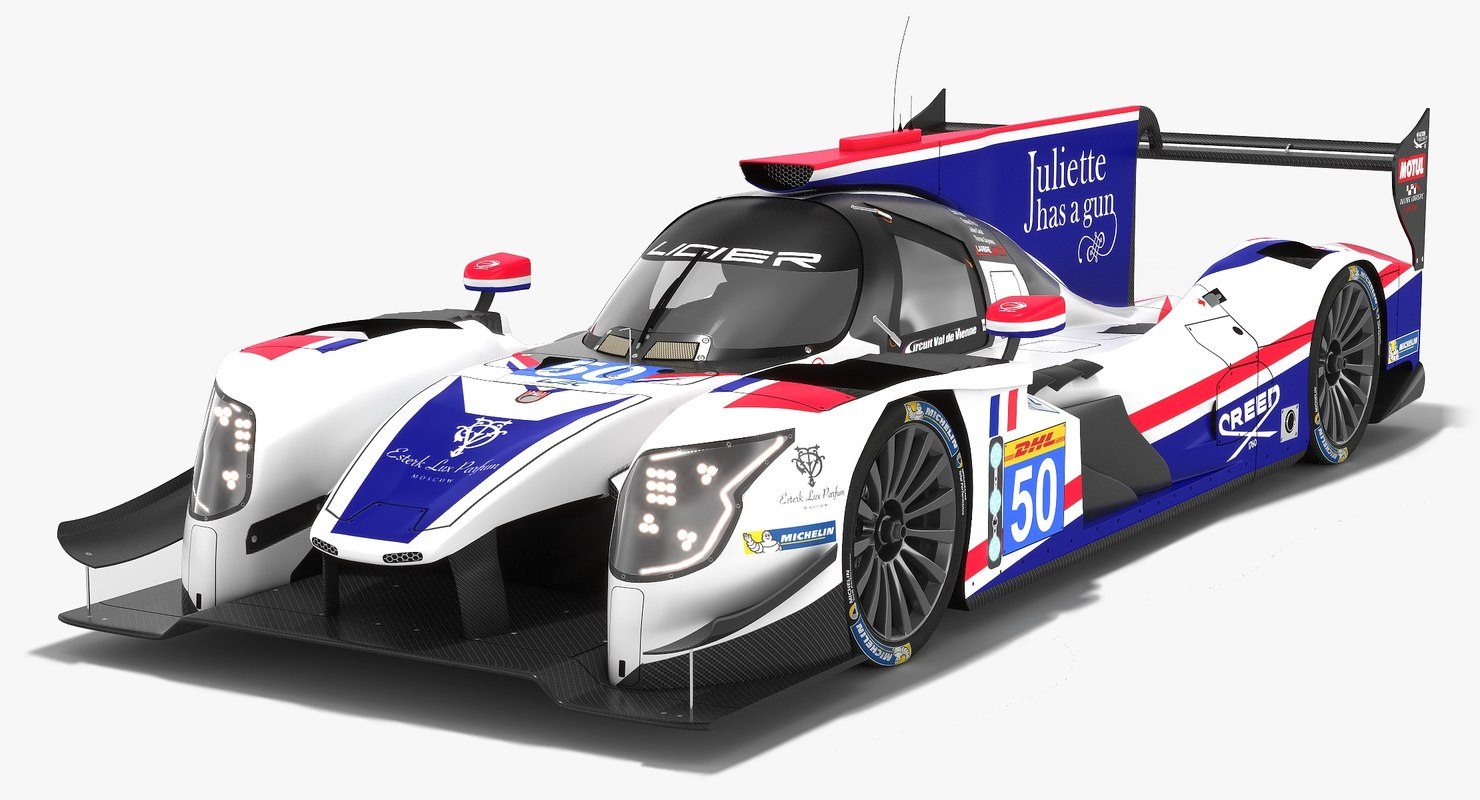 3D model larbre competition dallara p217