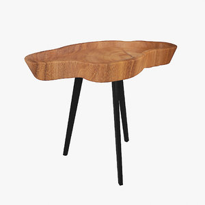 simple conference table 3D model