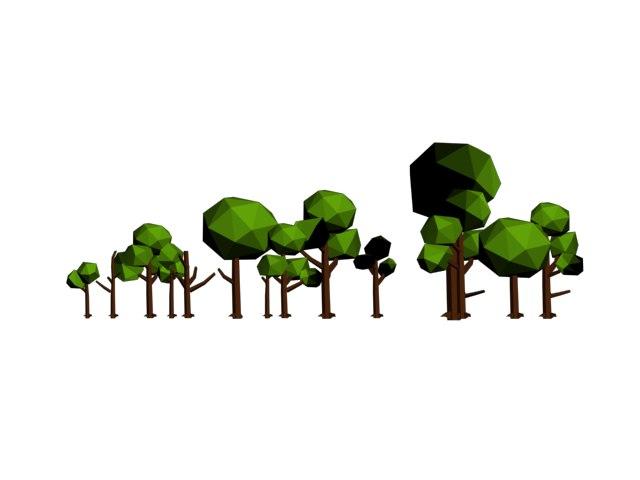 ultimate tree pack 3D model