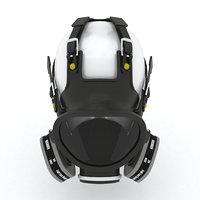 3D care faces model